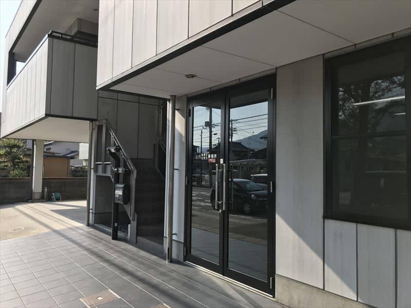 和歌山県海南市の会計事務所玄関
